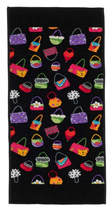 Crazy Bag Chenille Head Towel