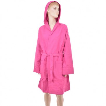 Benetton Honeycomb Cyclamen Bath Robe