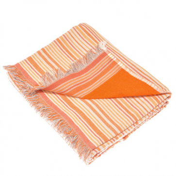 JMA Stripe Orange Pareo Towel