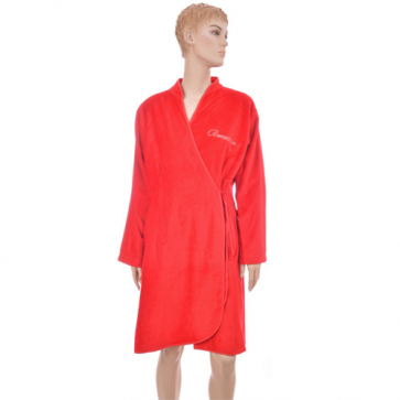 Benetton Glitter Red Bath Robe