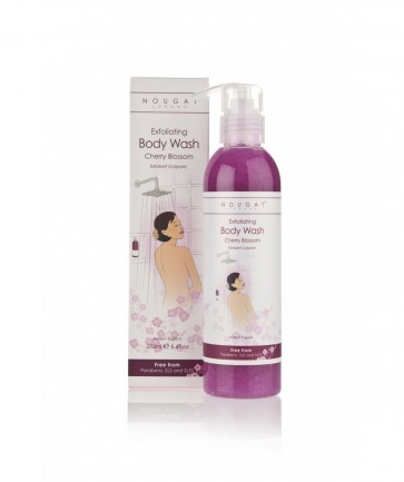 Cherry Blossom Exfoliating Body Wash