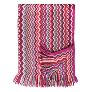 Eagle Firenze Pink Lambswool Blanket