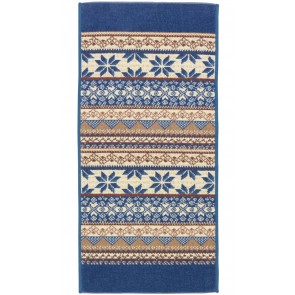 Baltic Blue Chenille Head Towel
