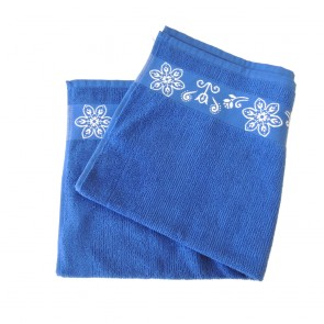 Elias Blue Lace Kitchen Towel