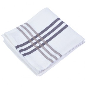 Cookware White Grey Tea Towel