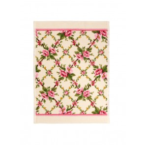 Amelie Chenille Pink Hand Towel