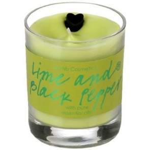 Lime and Black Pepper Candle