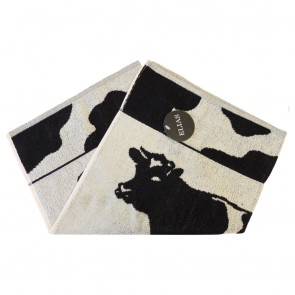 Elias Black Cow Kitchen Towel