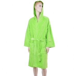 Benetton Green Solid Bath Robe