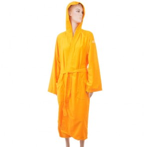 Benetton Yellow Solid Bath Robe