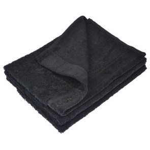 Benetton Black Towel 60x110