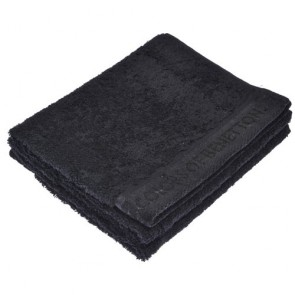 Benetton Black Hand Towel 30x50cm