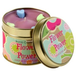 Flower Power Candle
