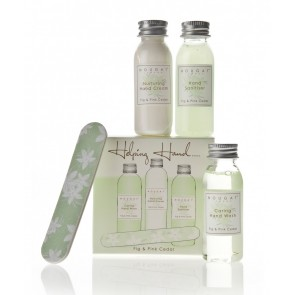 Fig & Pink Cedar Hands Travel Set