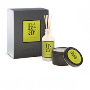 Archipelago Pear Diffuser & Candle Mini Gift Set